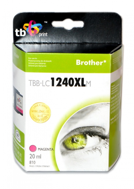 Tusz do Brother LC1240XL TBB-LC1240XLM MA