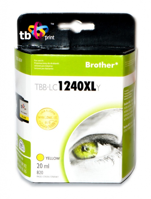 Tusz do Brother LC1240XL TBB-LC1240XLY YE