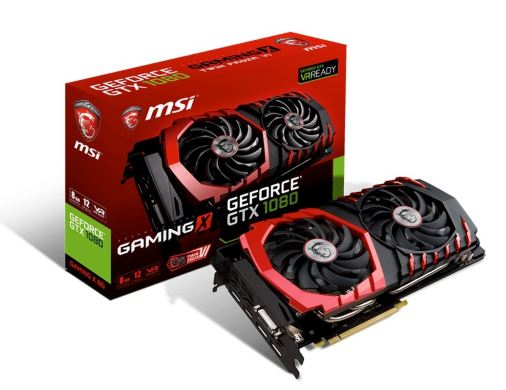 GeForce GTX 1080 8GB DDR5 256BIT DVI/HDMI/3DP BOX