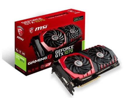 GeForce GTX 1070 8GB DDR5 256BIT DVI/HDMI/3DP BOX