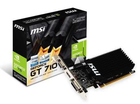 GeForce GT 710 1GB DDR3 64BIT DVI/D-SUB/HDMI