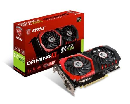 GeForce GTX 1050 Gaming X 2GB DDR5 128BIT DVI/HDMI