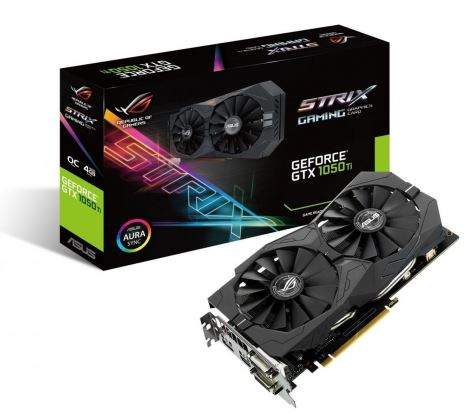 GeForce GTX 1050 TI O 4GB 128BIT DVI/HDMI/DP