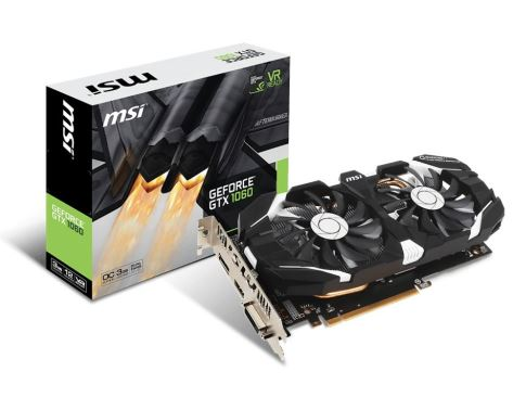 GeForce GTX 1060 OC 3GB 192BIT DVI/HDMI/3DP/EP6