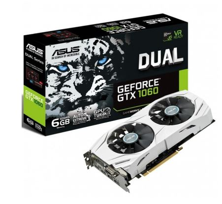 GeForce GTX 1060 DUAL 6GB DDR5 192BIT DV/HD/DP BOX