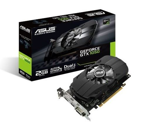 GeForce GTX 1050 2GB 128BIT DVI/HDMI/DP/HDCP