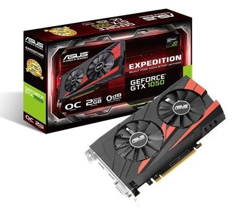 GeForce GTX 1050 OC 2GB 128BIT DVI/HDMI/DP/HDCP