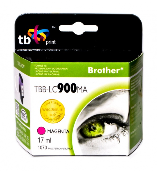 Tusz do Brother LC 900 TBB-LC900MA MA