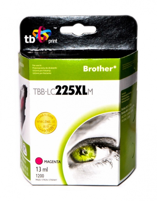 Tusz do Brother LC225XL TBB-LC225XLM MA
