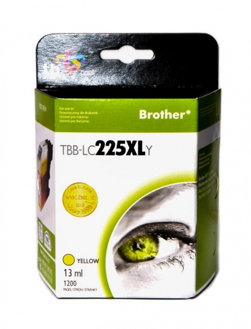 Tusz do Brother LC225XL TBB-LC225XLY YE