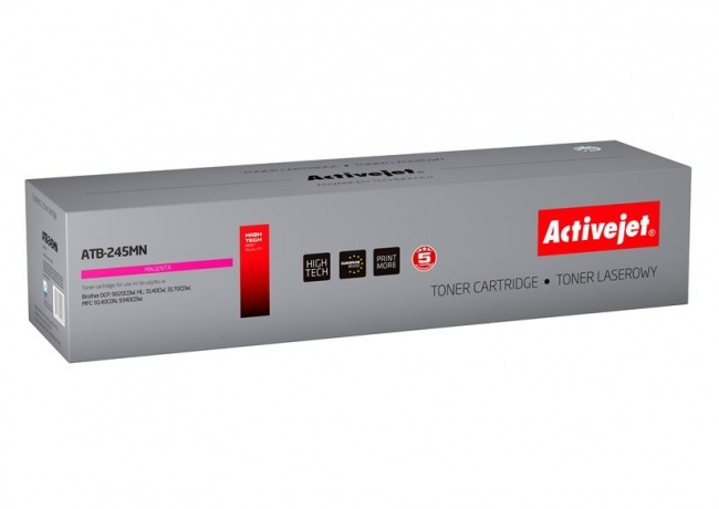 Toner Activejet ATB-245MN (do drukarki Brother  zamiennik TN245M supreme 2200str. magenta)
