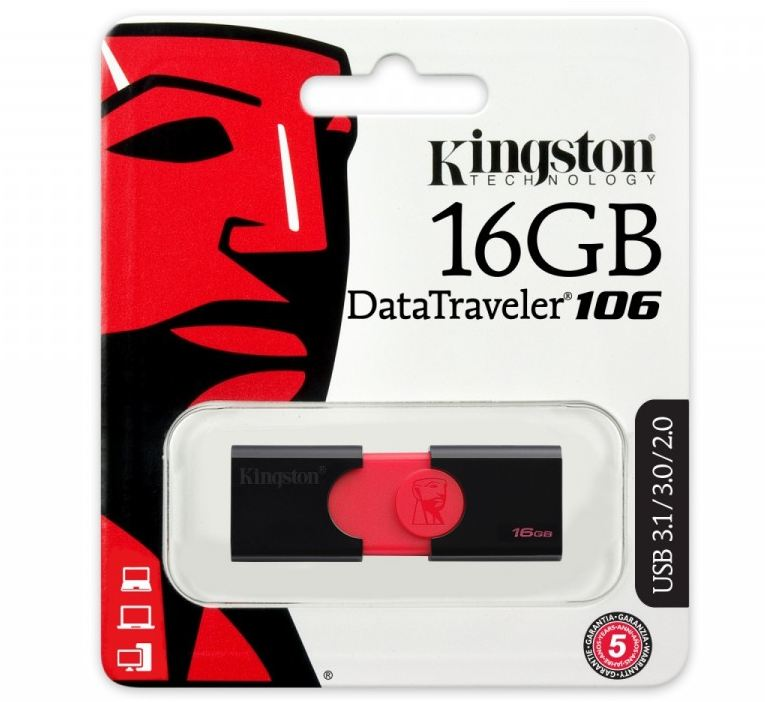 Pendrive Data Traveler 106 16GB