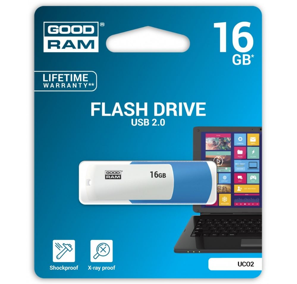 Pendrive COLOR MIX 16GB USB2.0 MIX