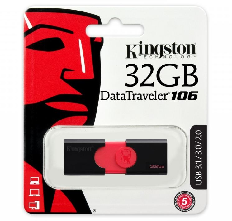 Pendrive Data Traveler 106 32GB 100MB/s