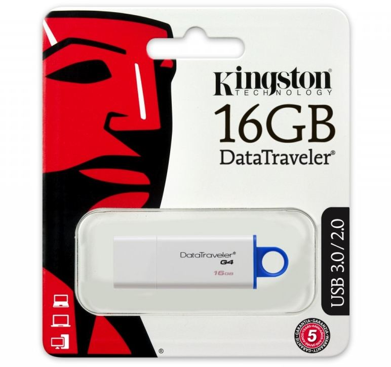 Pendrive Data Traveler I G4 16GB USB 3.0