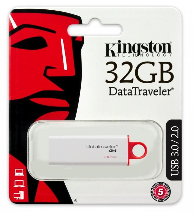 Pendrive Data Traveler I G4 32GB USB 3.0