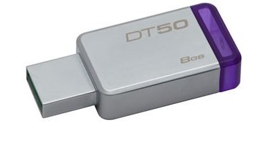 Pendrive Data Traveler 50 8GB USB 3.0