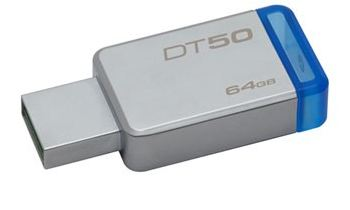 Pendrive Data Traveler 50 64GB USB 3.0