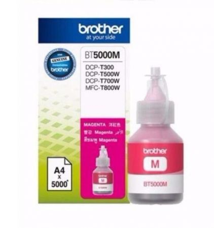 Tusz Oryginalny Brother BT5000M Magenta 5k do DCP-T300, DCP-T500W