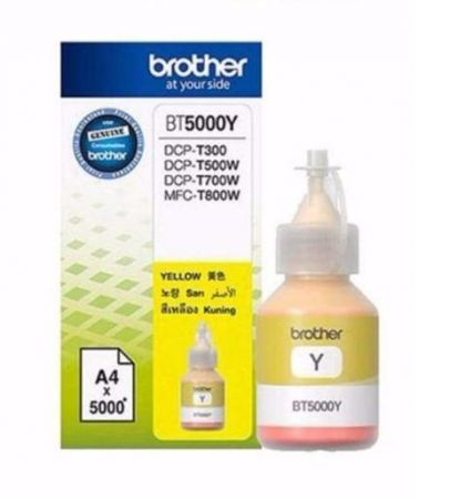 Tusz Oryginalny Brother BT5000Y Yellow 5k do DCP-T300, DCP-T500W