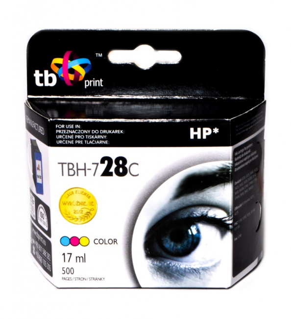 Tusz do HP Nr 28 - C8728A TBH-728C Kolor ref.