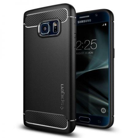 Etui SPIGEN ARMOR RUGGED GALAXY S7 BLACK