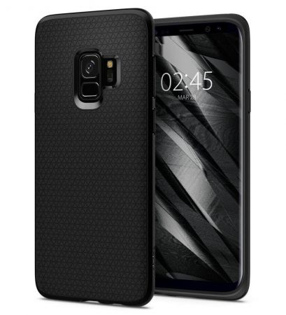 Etui SPIGEN Liquid AIR GALAXY S9 MATTE BLACK