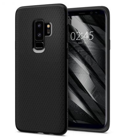 Etui SPIGEN Liquid AIR GALAXY S9+ PLUS MATTE BLACK