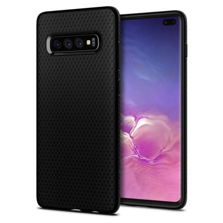 Etui SPIGEN Liquid AIR GALAXY S10+ PLUS MATTE BLACK