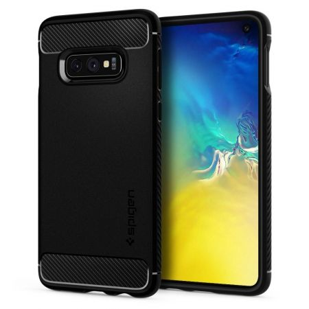 Etui SPIGEN Rugged Armor GALAXY S10E MATTE BLACK