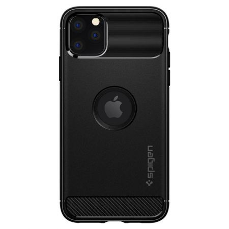 Etui SPIGEN Rugged Armor IPHONE 11 PRO MAX MATTE BLACK