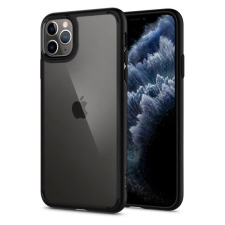 Etui SPIGEN ULTRA hybrid IPHONE 11 PRO MAX MATTE BLACK