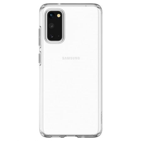Etui SPIGEN Liquid crystal GALAXY S20 crystal CLEAR