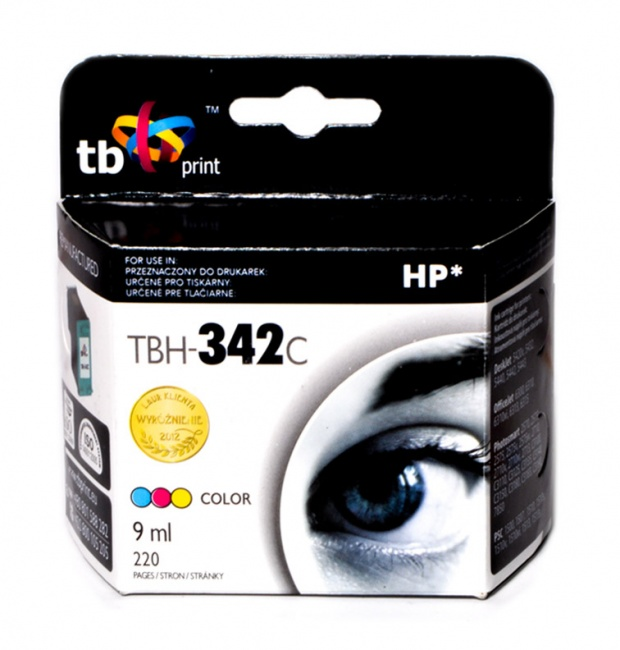 Tusz do HP Nr 342 - C9361EE TBH-342C Kolor ref.