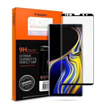Szkło hartowane SPIGEN GLAS.TR CASE FRIENDLY GALAXY NOTE 9 BLACK