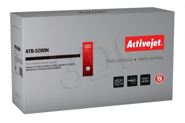 Toner Activejet ATB-3280N (do drukarki Brother  zamiennik TN3280 supreme 8000str. czarny)