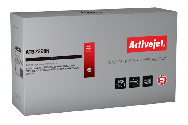 Toner Activejet ATB-2220N (do drukarki Brother  zamiennik TN2220/TN2010 supreme 2600str. czarny)