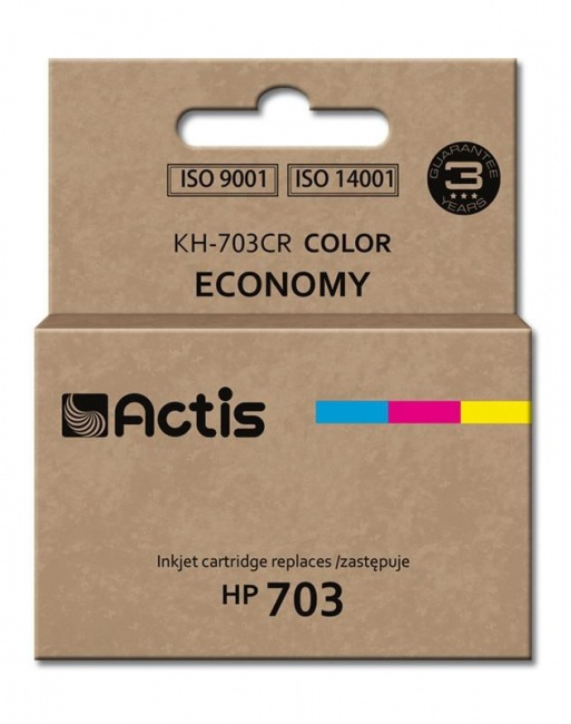 Tusz Actis KH-703CR (HP 703 CD888AE) standard 12ml trójkolorowy