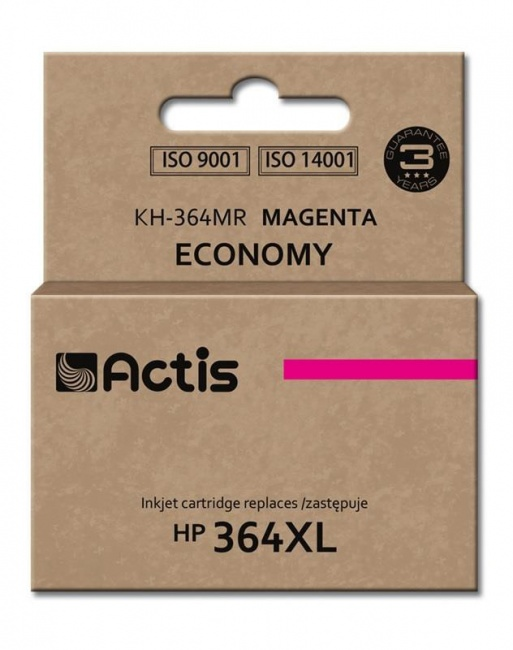 Tusz Actis KH-364MR (HP 364XL CB324EE) standard 12ml magenta Chip