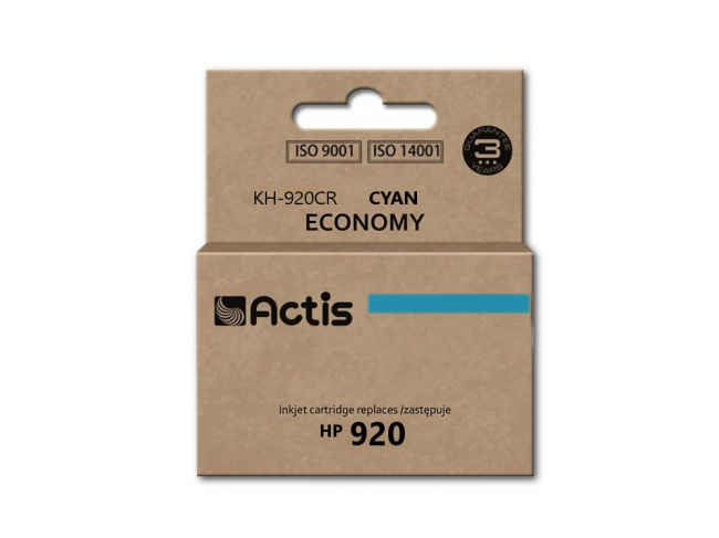 Tusz Actis KH-920CR (HP 920XL CD972AE) standard 12ml cyan