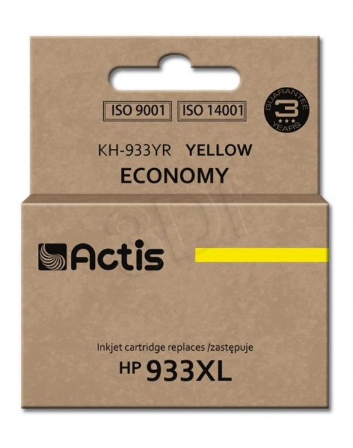 Tusz Actis KH-933YR (HP 933XL CN056AE) standard 13ml yellow Chip