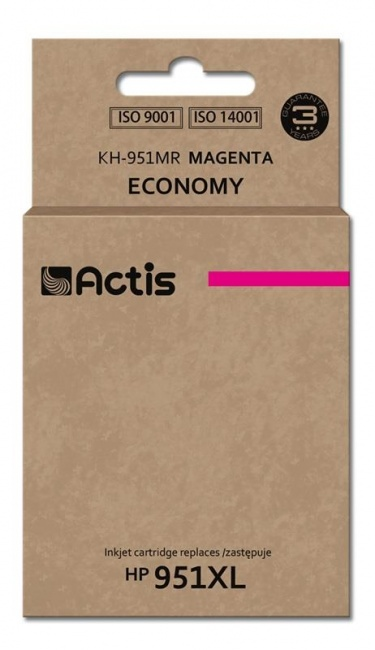 Tusz Actis KH-951MR (HP 951XL CN047AE) standard 25ml magenta Chip
