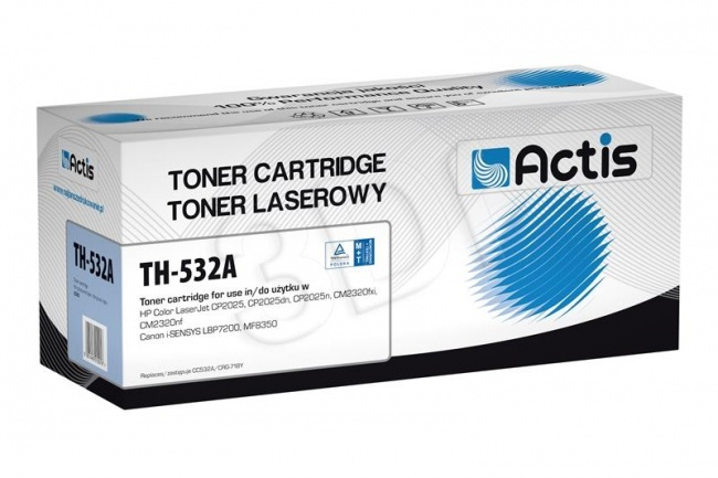 Toner Actis TH-532A (HP 304A CC532A) standard 2800str. yellow
