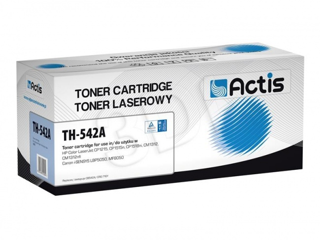 Toner Actis TH-542A (HP 125A CB542A) standard 1400str. yellow