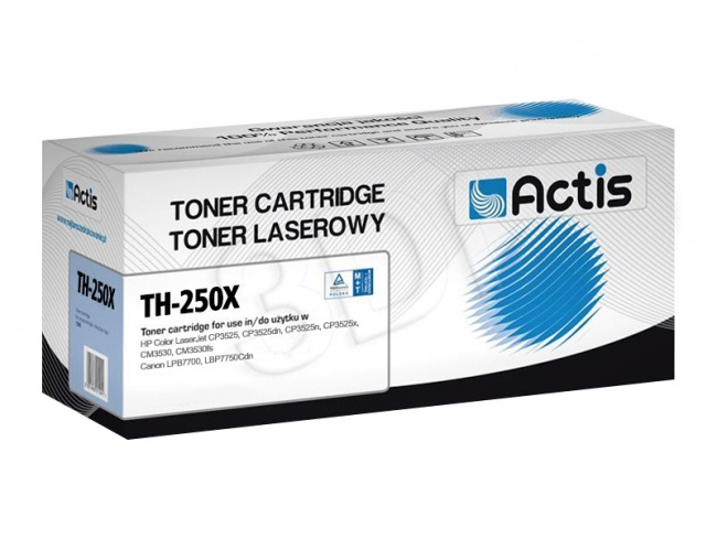 Toner Actis TH-250X (HP 504X CE250X) supreme 10500str. czarny