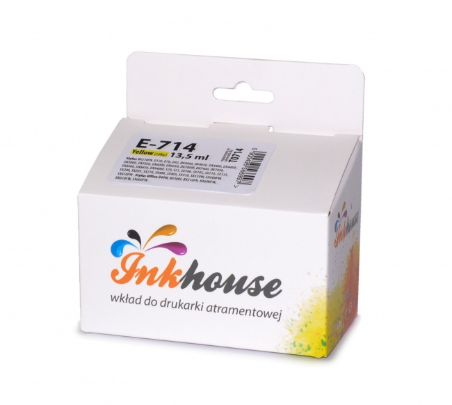 Tusz Inkhouse EPSON T0714 Yellow D78/DX4000