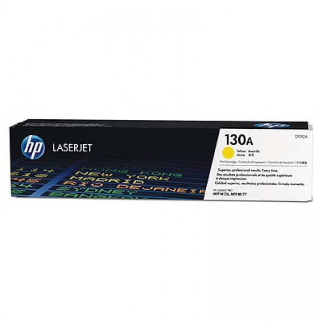 Toner 130A Yellow 1k CF352A