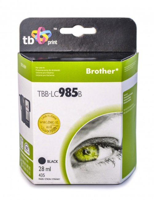 Tusz do Brother LC 985 TBB-LC985B BK